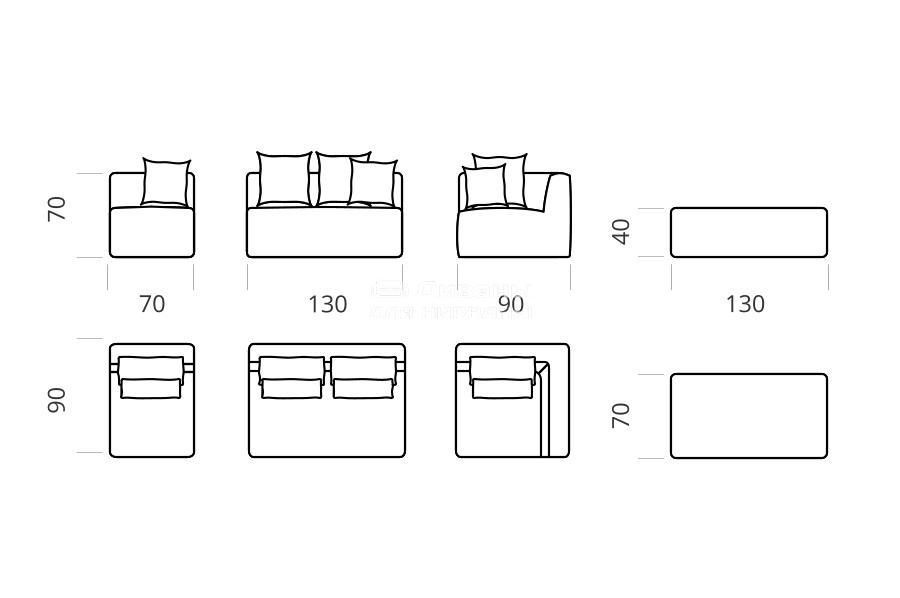 Одісей - мебельная фабрика Lado. Фото №3. | Диваны для нирваны